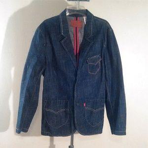 Levis Red Collection Vintage Denim Jacket Raw L
